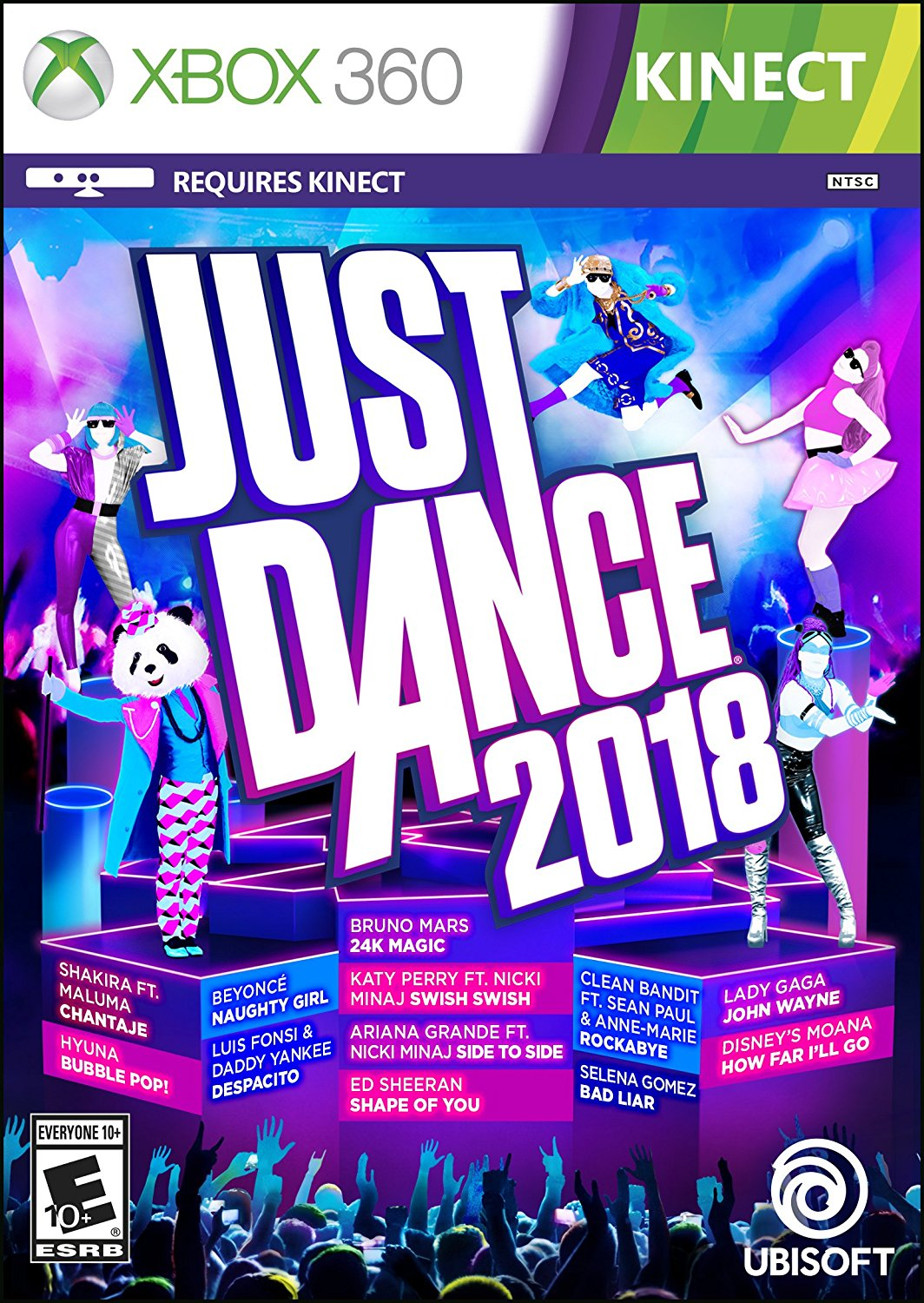 New Games: JUST DANCE 2018 (PS4, PS3, Xbox One, Xbox 360 ...Xbox 360 Game Covers