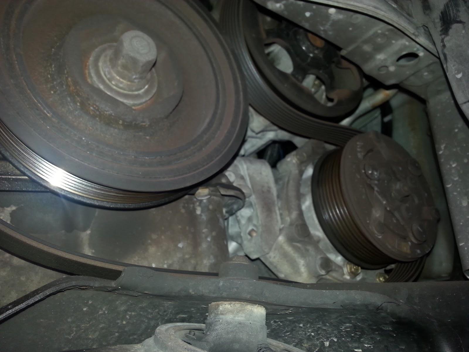 Corolla DIY: DIY - Serpentine Belt 2000 Honda CRV