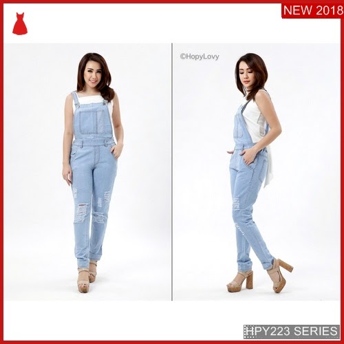 HPY223O78 Overall Laura Anak Jeans Murah BMGShop