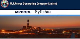 MPPGCL Syllabus 2017