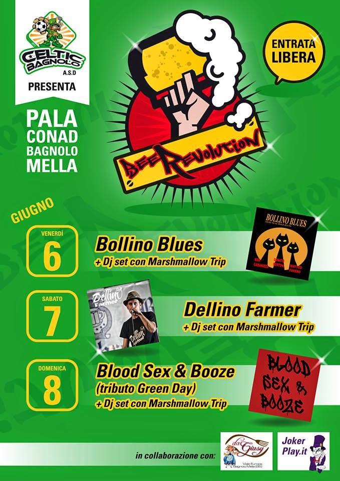 Musica 6 7 8 giugno 2014 beerevolution festival 1 ma - Piscina bagnolo mella ...