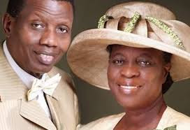 pastor adeboye and wife