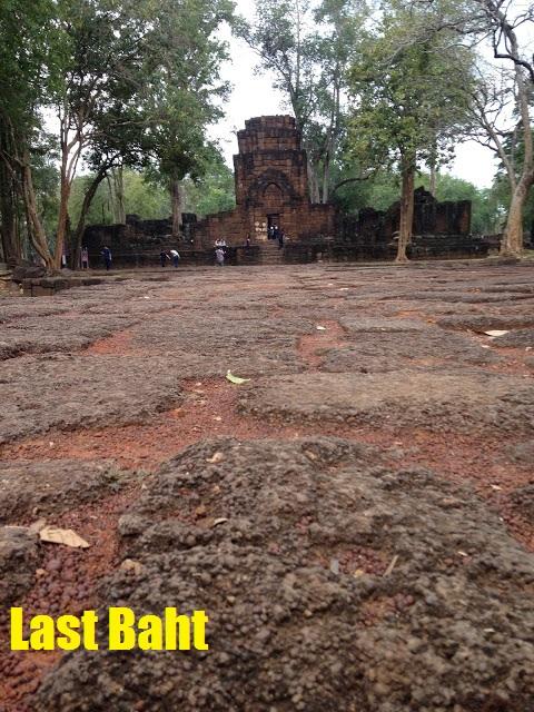 Khmer Ruins in Kanchanaburi, Thailand