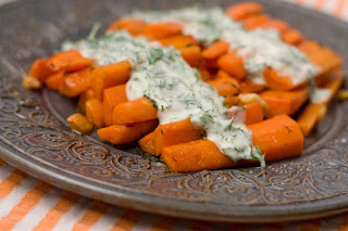 Carrots with Yogurt (Yogurtlu Havuc Salatasi)
