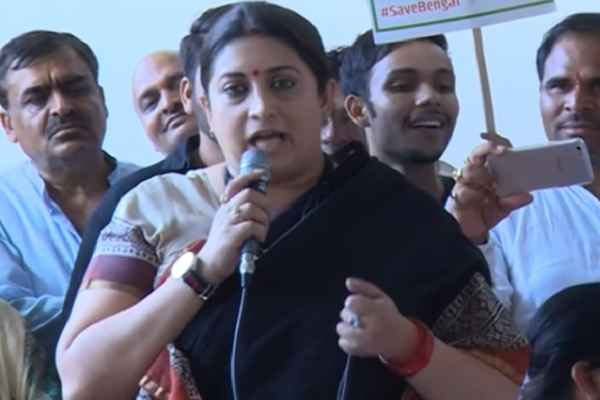 smriti-irani-launch-save-bengal-mission-slams-mamata-banerjee