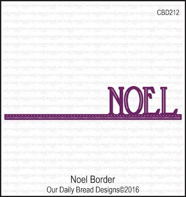 ODBD Custom Die: Noel Border
