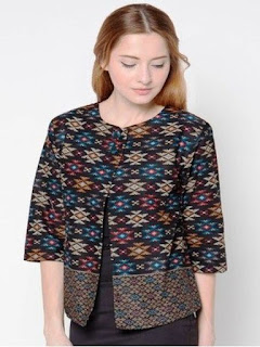 batik assidiq model baju wanita modern