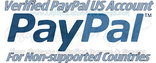 Verified Paypal Account for non supported countries