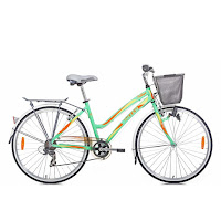 City Bike United Pattaya Rangka Aloi 7 Speed Shimano 26 Inci