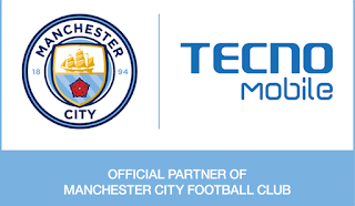 Tecno now Official partners with Manchester City Football Club