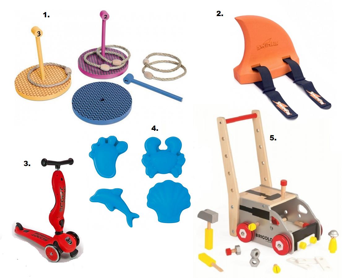 Zabawki outdoorowe.