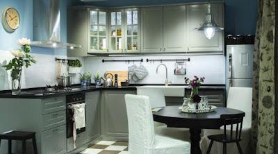 Cara Mendesain Model Lemari Dapur & Kitchen Set