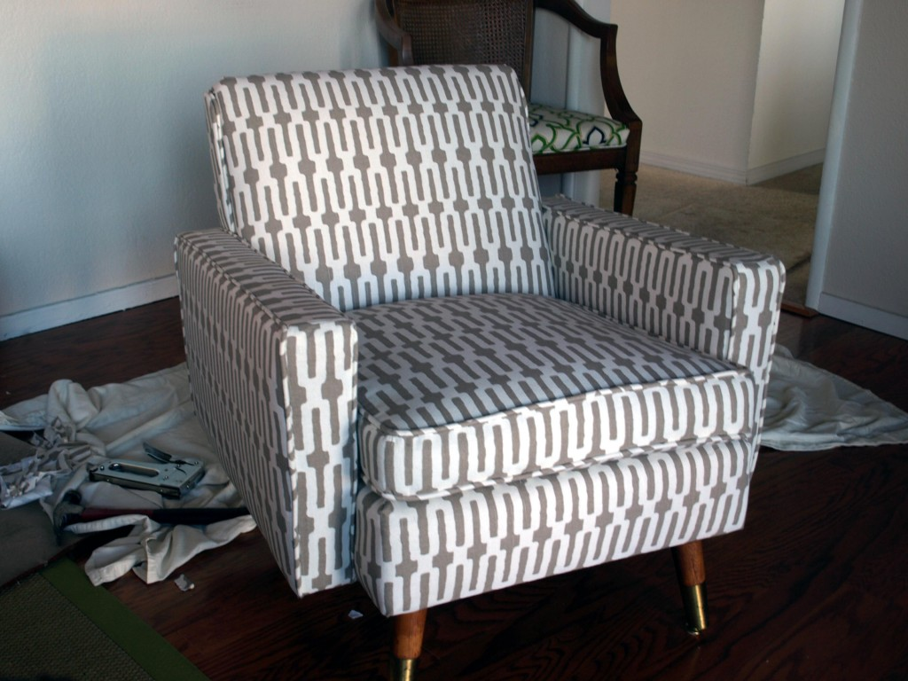 Reupholster Mid Century Chair & How Much Is It To Reupholster A Couch - Laura Williams islam-shia.org