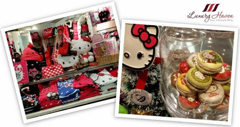 hello kitty cafe kilara shopping in hong kong