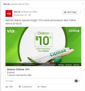 contoh iklan produk tiketing