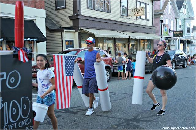 Desfile del 4 de Julio en Rockport: Bolera