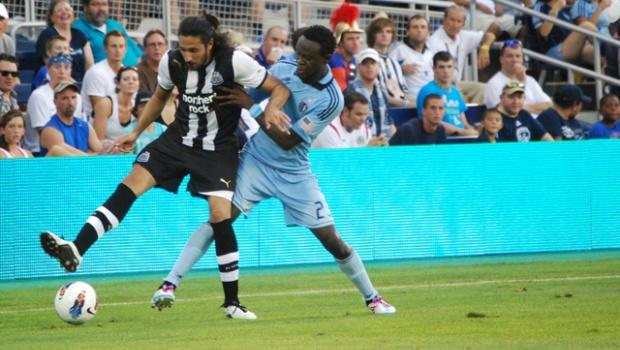 Major League Soccer Italia  Amichevoli  Sporting KC e Newcastle ... 275e59f81e2a7