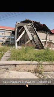 Benue State University Social Science Building Collapses