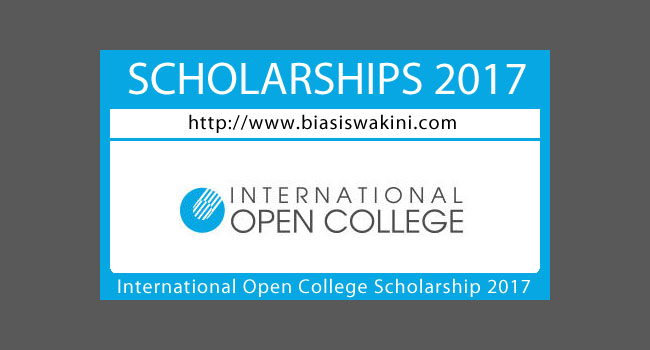 International Open College Scholarship 2017