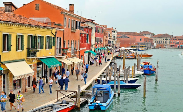 Sobre a Ilha de Murano em Veneza