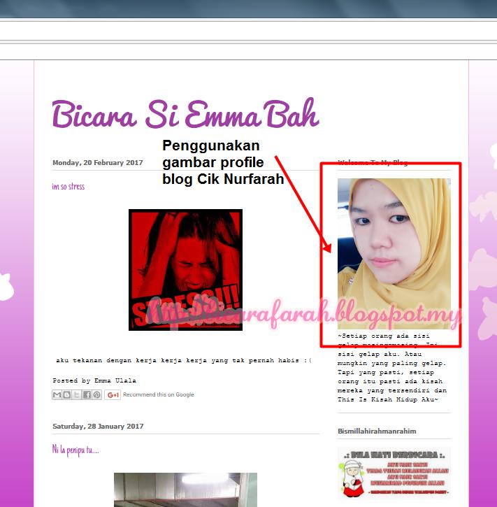 Jangan Bina Blog Palsu !