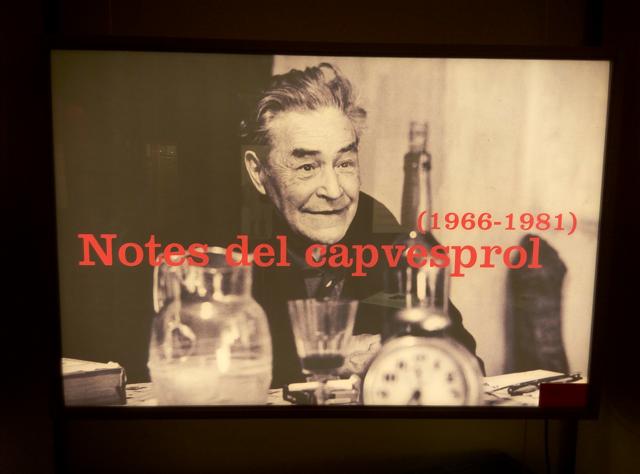 Josep Pla, el mestre