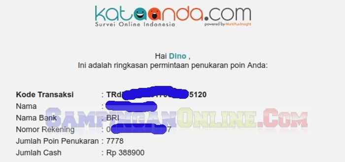 kataanda.com penipu tidak membayar