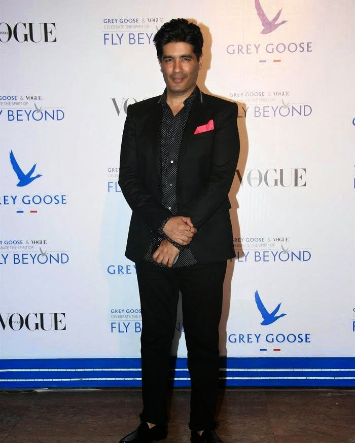 Manish Malhotra, Pics from Red Carpet of Grey Goose & Vogue's Fly Beyond Awards 2014