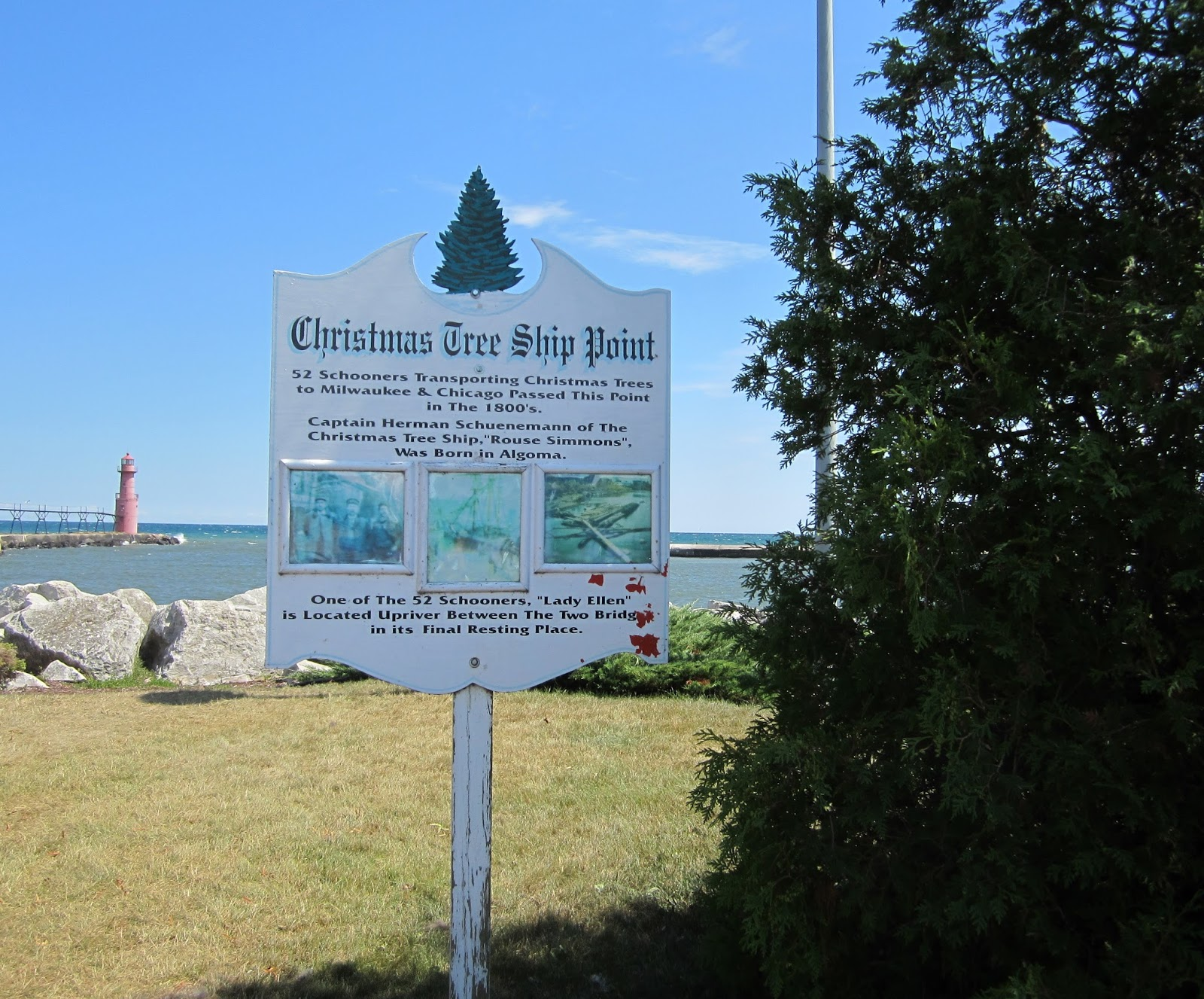 Kewaunee County History Ahnapee Algoma And The Christmas Tree