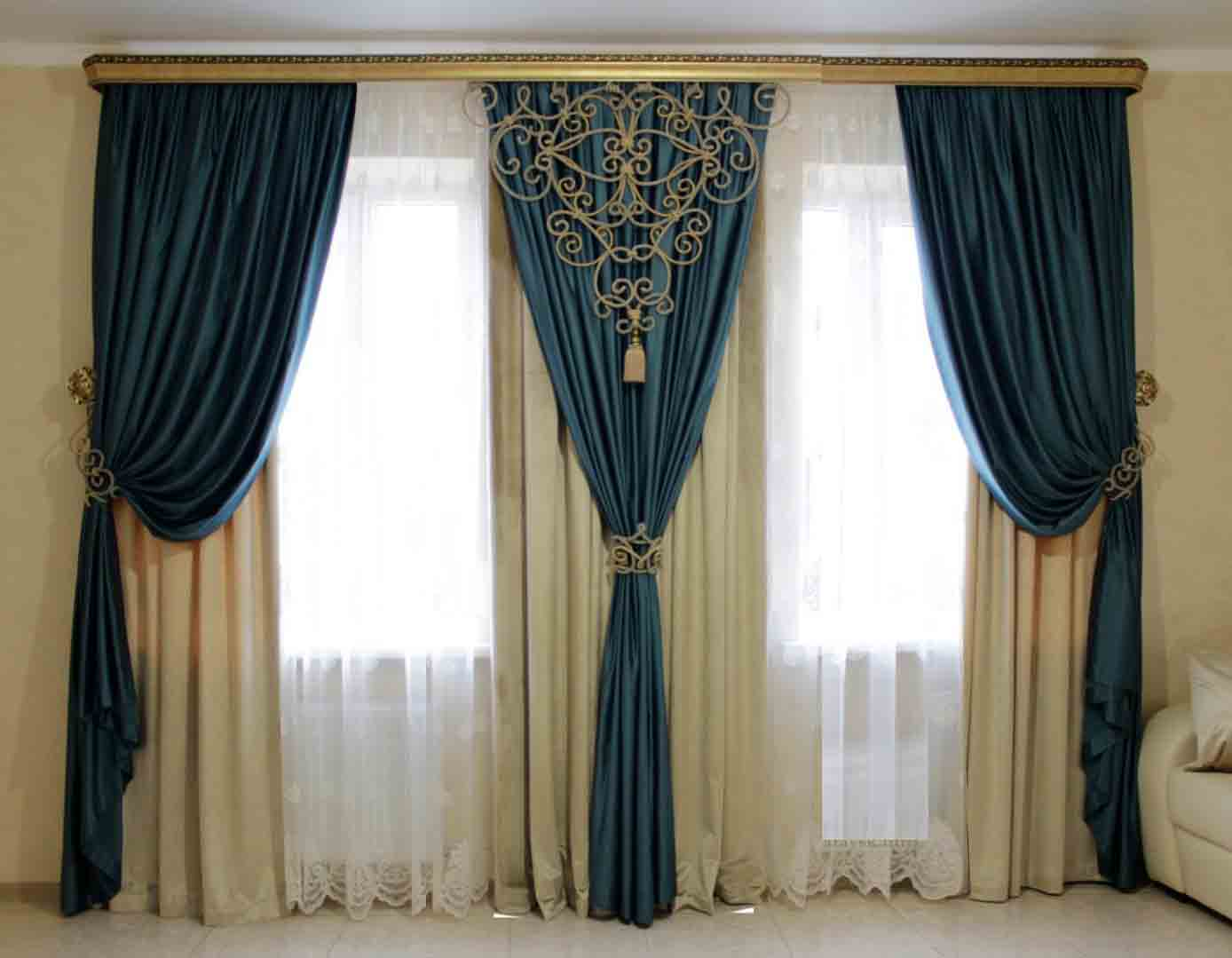 top 50 curtain design ideas for bedroom modern interior designs 2019. Black Bedroom Furniture Sets. Home Design Ideas