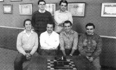 Componentes del Club Ajedrez Terrassa, Campeón de España por equipos 1985