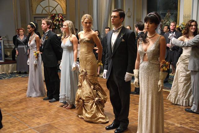 Cena do baile em Gossip Girl