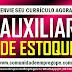 AUXILIAR DE ESTOQUE, 02 VAGAS COM REMUNERAÇÃO DE R$ 1100,00 PARA EMPRESA NO RECIFE