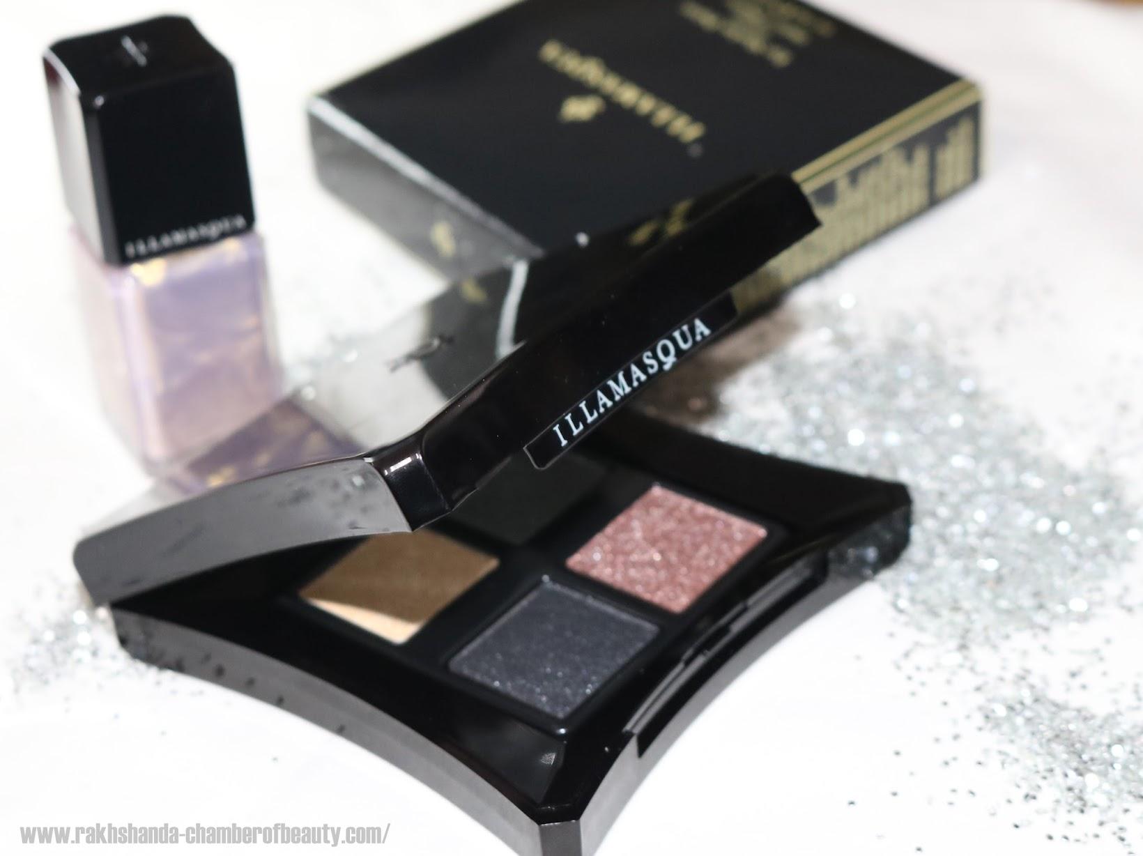 Illamasqua Equinox Collection For Christmas 2015- Review, swatches and more, Illamasqua celestial Palette, Illamasqua Nail Varnish Beam, Indian beauty blogger