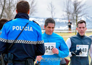 Atletismo Policía Tráfico