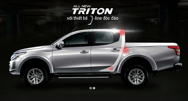 3048151 triton jline -  - So sánh Toyota Hilux và Mitsubishi Triton 2016 : Cạnh tranh mạnh mẽ trong phân khúc xe bán tải
