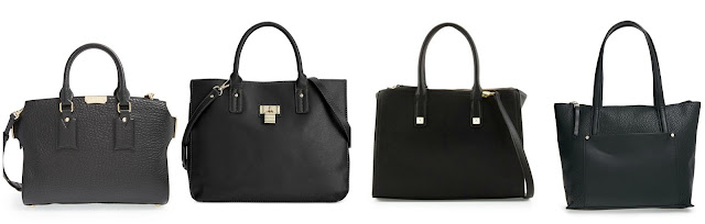One of these tote handbags is from Burberry for $1,895 and the other three are under $70. Can you guess which one is the designer bag? Click the links below to see if you are correct!