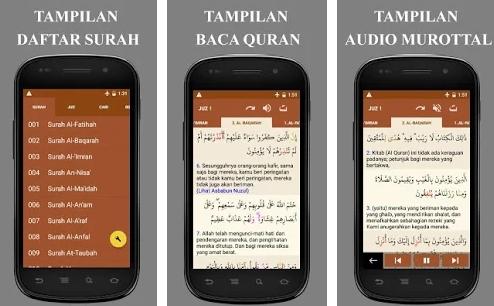 Aplikasi Al Quran Tajwid, Tafsir, Audio