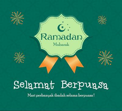 selamat berpuasa, ucapan selamat berpuasa, ramadan mubarak,