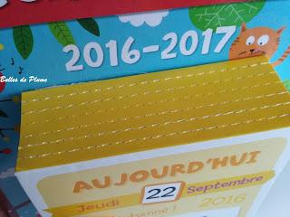 Bulles de Plume - Mon super calendrier (Editions Gründ)