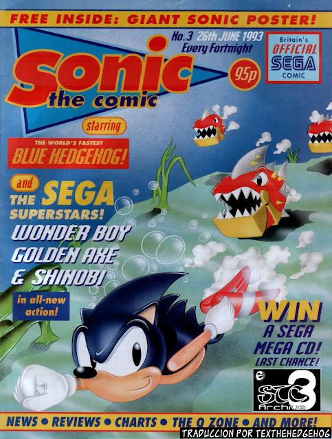 Sonic the Comic [Fleetway] 01