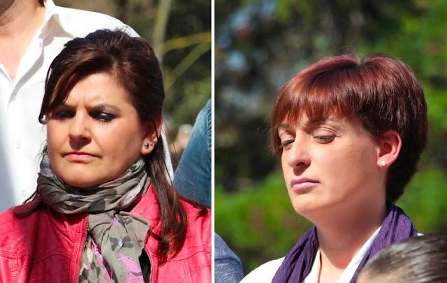 Amaya Rojas y Maribel Ventura (PSE Barakaldo)