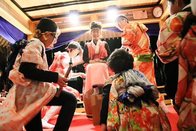 Katsuyama Sagichou (Spring Fire Festival), Fukui Pref.