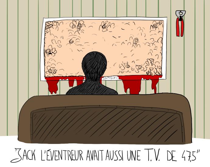 Jack l'éventreur et sa télé