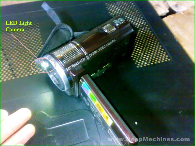 "Fitur Penerangan Kamera DVC HD SONY 16.0MPx ""GEN X"" G800"
