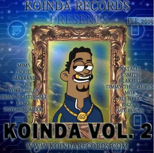 "Koinda (aka Koindanomics) releases 2nd collaborative Hiphop/RnB mixtape ""Koinda Vol. 2"""