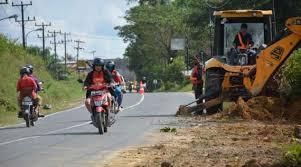 Masyarakat Padang Alai Sambut Antusias Pelebaran Jalan V Koto Timur- Malalak Barat