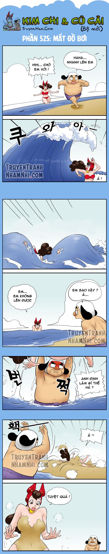 Kim Chi Và Củ Cải phần 525: Mất đồ bơi