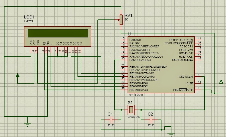 Lcd 16x2 Display  Interfacing with Microcontroller [step by step]