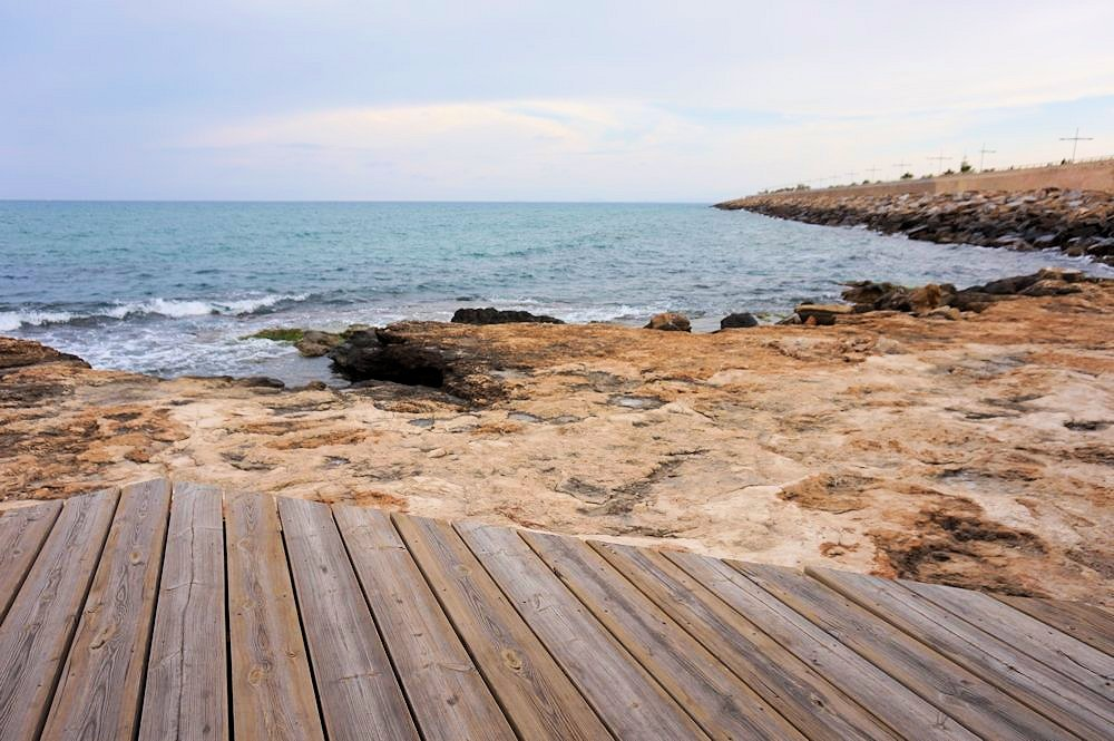 Torrevieja sea front, Murcia, Spain